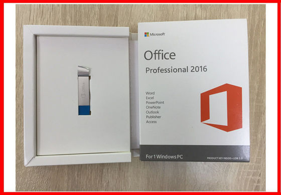 China Original Microsoft Office Professional 2016 Retail Box Usb Activation Online supplier