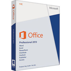 China DVD Activation Microsoft Office 2013 Professional Plus Genuine 64 Bit supplier