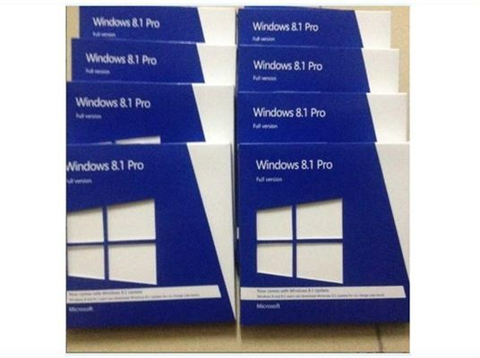 China Computer Software Windows 8.1 Pro Retail Box Microsoft OEM System Builder License supplier