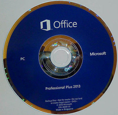 China Online Activation Office Professional 2013 Product Key Card , MS Office Pro Plus 2013 supplier