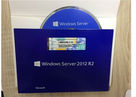 China Small Business Microsoft Server 2012 R2 Key Sticker With COA Standard Activated supplier
