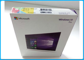China OEM Key License Windows 10 Pro 64 Bit Retail Box / 3.0 USB Flash Drive supplier