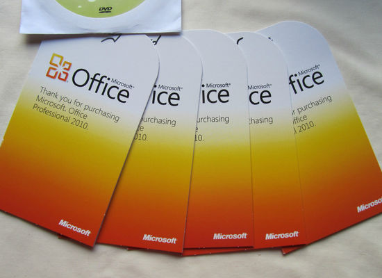 China Original Product Microsoft Office Key Code Professional Plus 2010 Sticker supplier