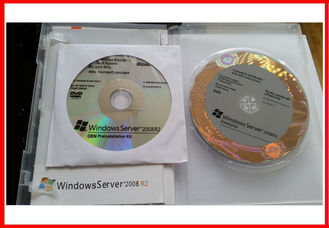 China 32 / 64 Bit Software Key Code , Microsoft Server Windows 2008 R2 OEM 25 Cal supplier