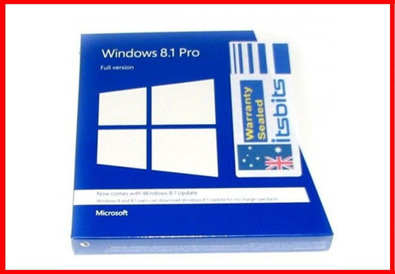 China Full Version Microsoft Windows 8.1 Activation Key , Windows 8.1 Coa Sticker supplier