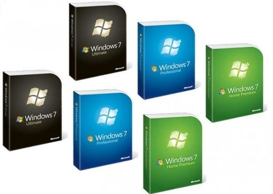 Pro Retail Box Windows 7 Professional 64 Bit Full Version , Product Key Software