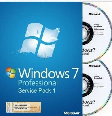 Genuine Windows 7 Professional Full Version With Retail Box , Microsoft Windows Retail