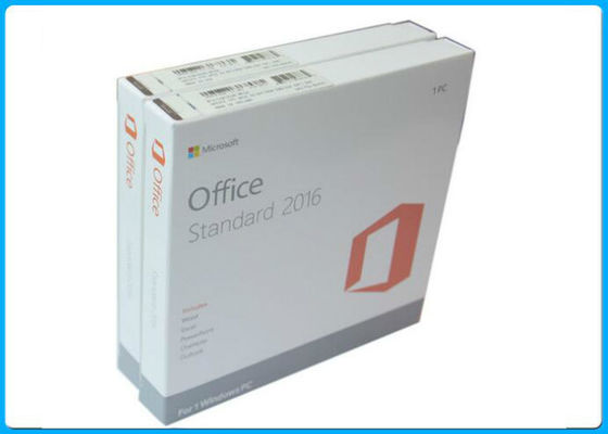 China 100% activation Genuine Microsoft Office 2016 standard License with DVD Media factory