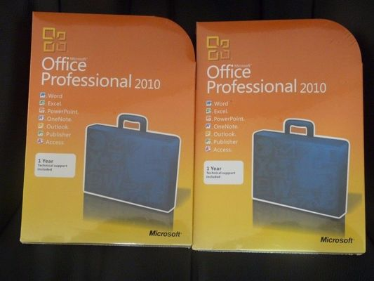 Full Version Microsoft Office 2010 Professional Retail Box 1 Ghz Processor