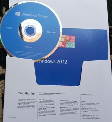 5 CALS Microsoft Windows Server 2012 R2 Standard English Versions DVD OEM PACK