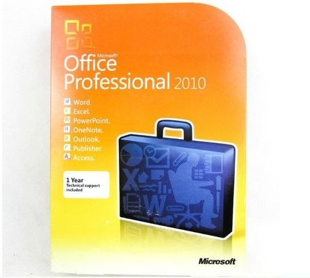 USA Original Microsoft Office 2010 Professional Plus Retail Box DVD Activation