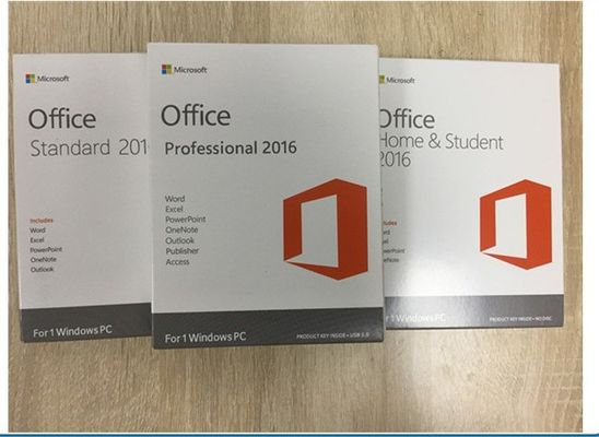 Multi Language Software Key Code / Office 2016 Professional Retail Version