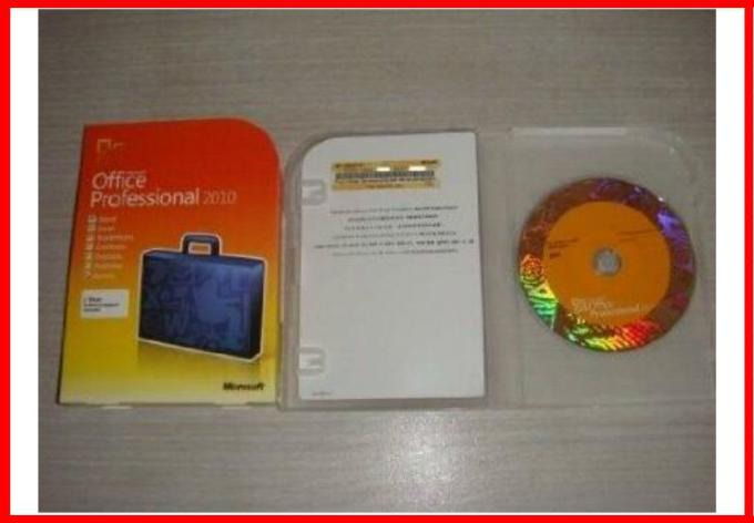 Microsoft Office Key Code 2010 professional plus Sticker DVD activation online original product code