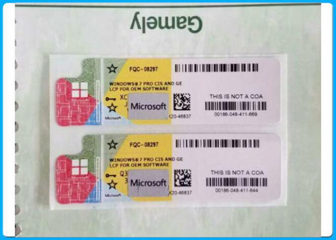 Microsoft Windows 7 Product Key Codes Anti fake Win7 Pro Genuine OEM License
