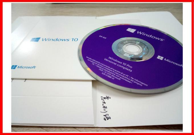Win10 Pro 64BIT Italian DVD Windows 10 Product Key Code Oem License Online Activation FQC-08913