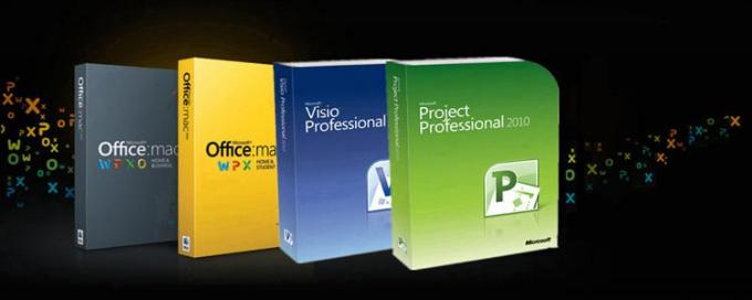 Original Microsoft Office 2010 Pro Retailbox COA STICKER online activation with DVD on stock